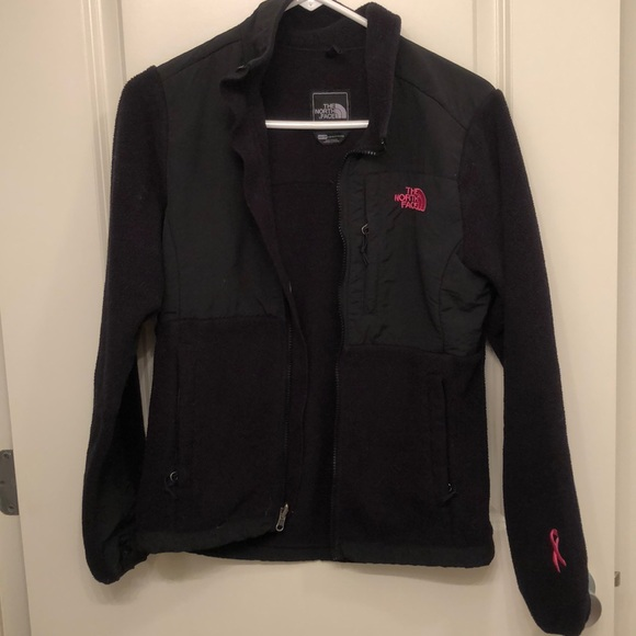 97c044763 XS Black Fleece Breast Cancer Northface Jacket